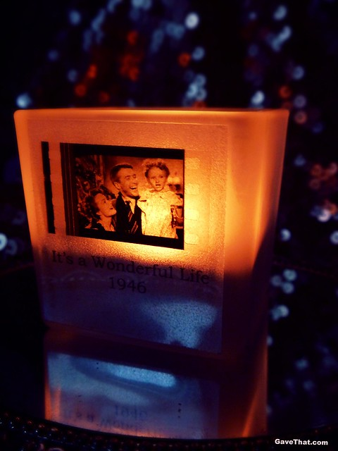 A film still candle by Actual Film Cell Etsy