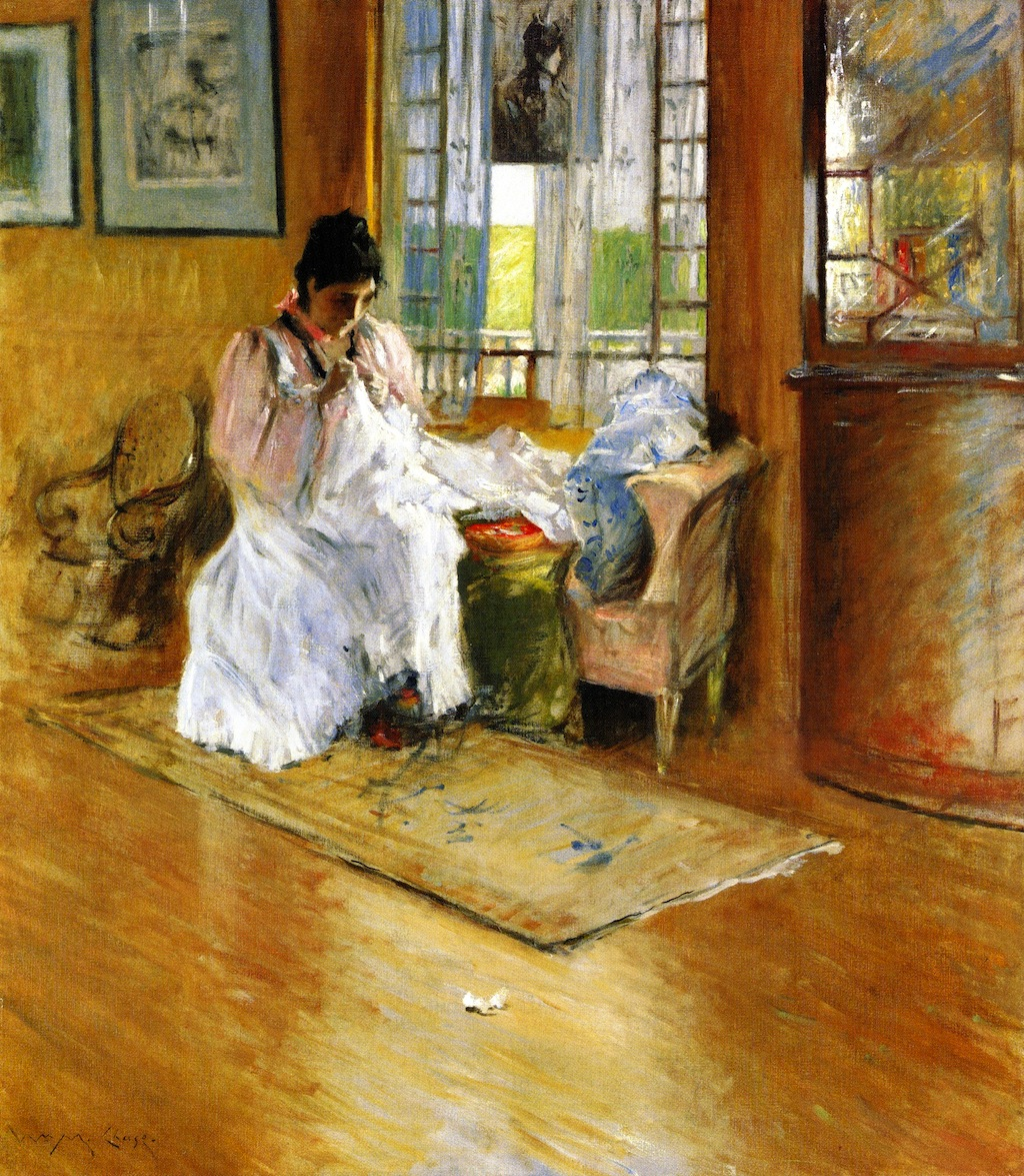 For the LIttle One (also known as Hall at Shinnecock) by William Merritt Chase, c.1895