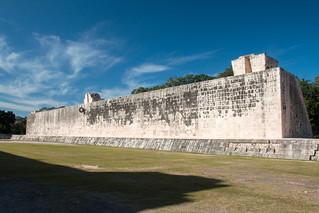 Chichen Itzá közelében San Felipe Nuevo képe. 2017 mexico yucatan january winter mayan chichenitza ruins ballcourt mexique estadosunidosmexicanos juegodepelota mexiko 墨西哥