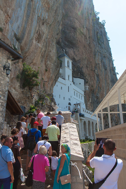 Montenegro, Monastery of Ostrog