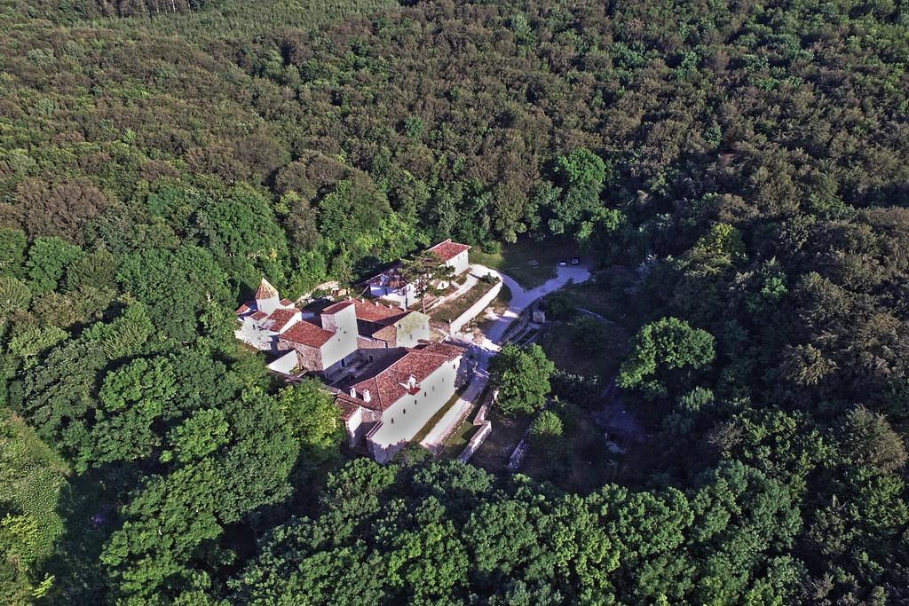 Staryi Krym, S. Khach monastery, aerial view, 2016.06.24 (06)