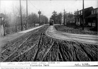Kingston Road Loop, south on Victoria Park