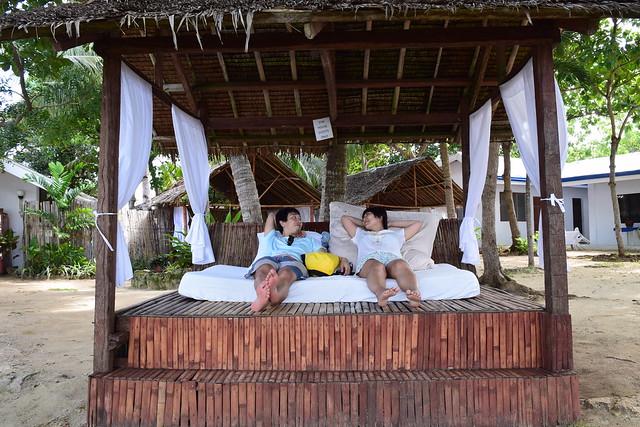 タリマリゾートのデイユースで使えるベッド