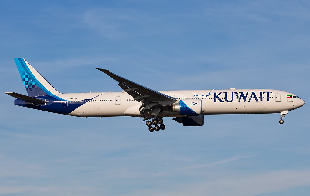 9K-AOD - B77W - Kuwait Airways
