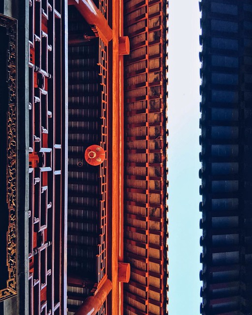 looking up  #onlyphone #shanghai #shanghaicity #iphonegraphy #phonecamera #architecture
