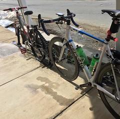 Snow bikes!