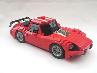 Lego Marcos 1600 GT TLCB Contest Entry