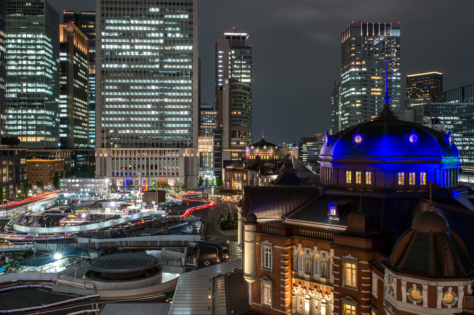 Tokyo Station 20:38