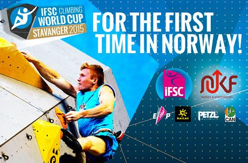 IFSC World Cup Stavanger 2015