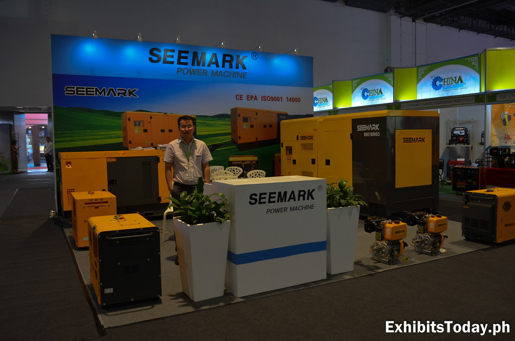 Seemark Power Machine Exhibit Booth