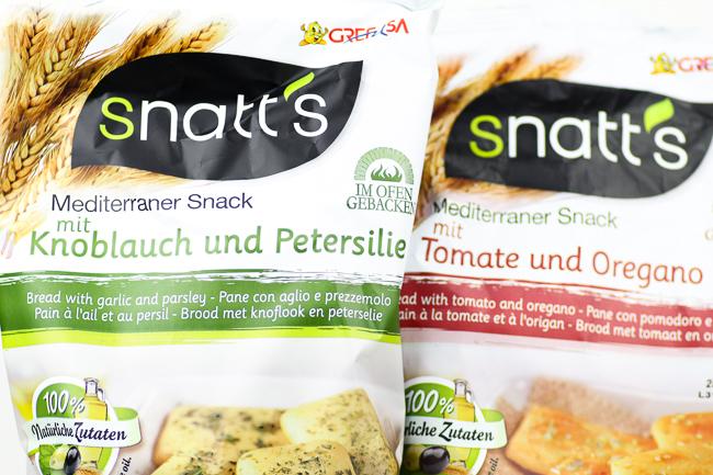Degustabox August, SNATT'S Mediterraner Snack
