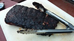 St Louis style ribs on the barbie - A Scrabble gam…
