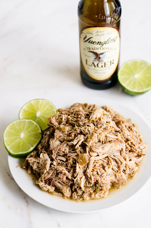 Slow Cooker Pork Carnitas | cookingalamel.com