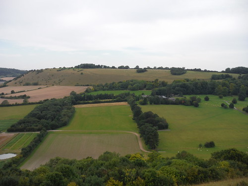 Huish Hill from Giant's Grave