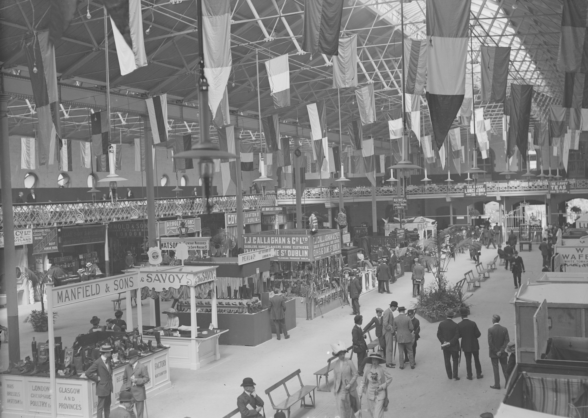 View of some of the Stalls at the Show, Ballsbridge, Co. Dublin