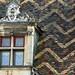 Dijon - Hôtel Bénigne Serre 5 rue du Lycée / Toiture polychrome