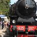 Treno a vapore alla stazione Castel Gandolfo