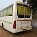 Sutlej 45 Seater Luxury Air Suspension White Bus