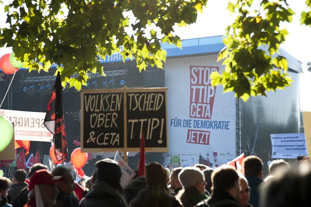 Großdemo gegen TTIP und CETA