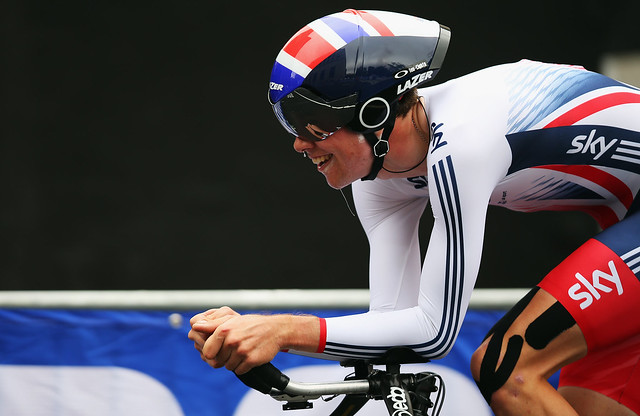 Great Britain Cycling Team at the 2015 UCI Road World Championships – junior women's and under-23 men's time trials