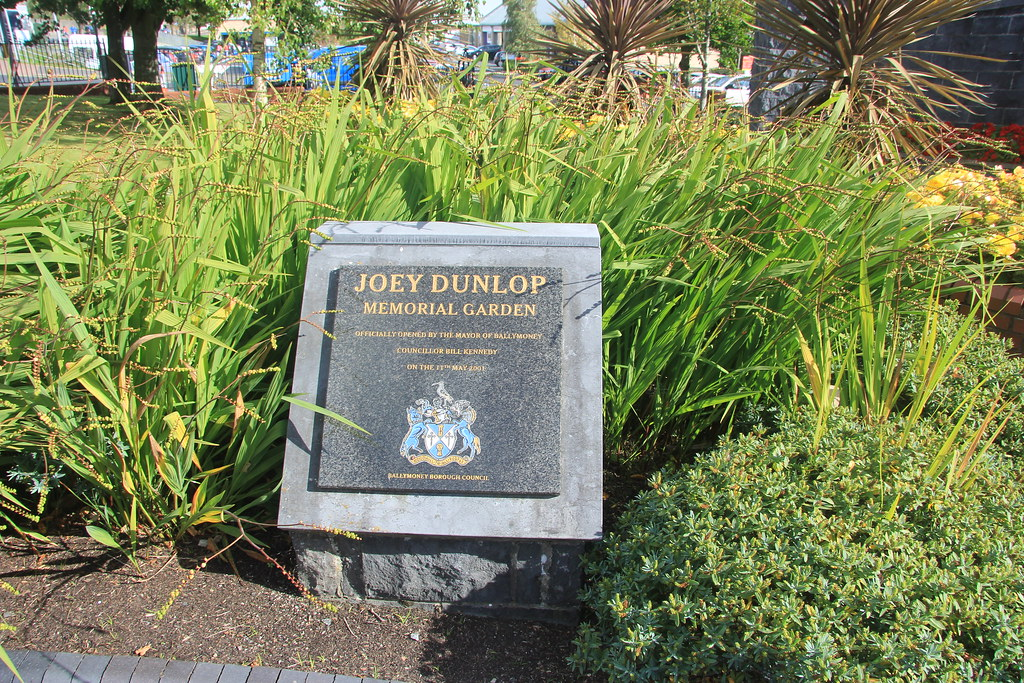 The Joey and Robert Dunlop Memorial Garden
