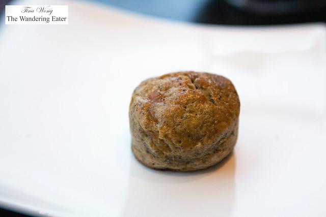 Buckwheat scone