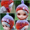 The Folklore Tonttu Helmet Autumn Blaze by Euro_Trash