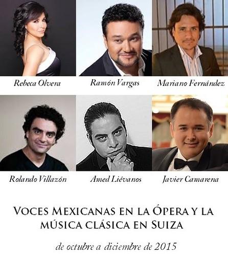 Voces mexicanas triunfan en Suiza