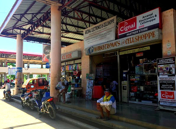 The newly-rehabilitated Daanbantayan Public Market