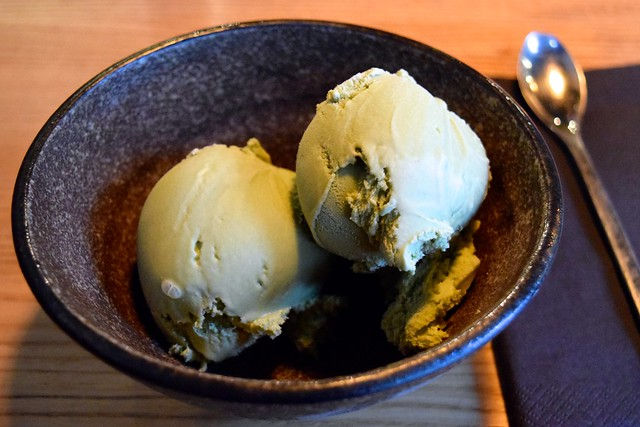 Green Tea Ice Cream at Murakami, Covent Garden | www.rachelphipps.com @rachelphipps
