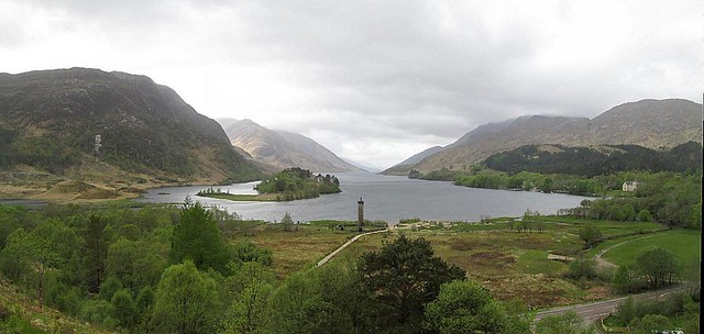 Loch Shiel from Viewpoint