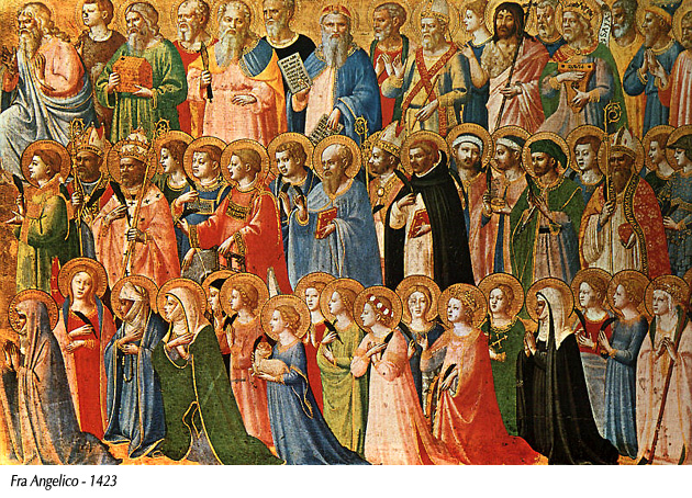 Fra Angelico - Iglesia celestial