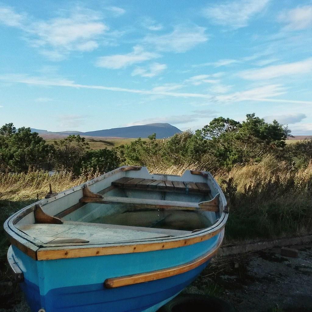 vene ja vuoret, Skotlannin ylämaat