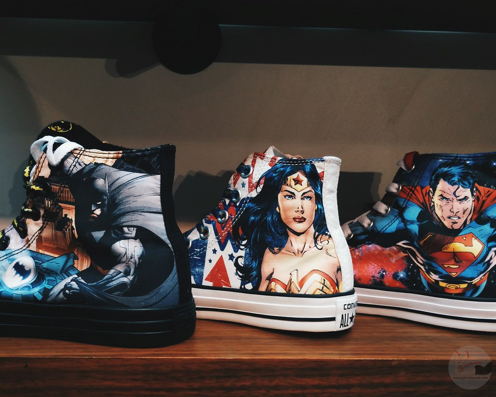 limited edition converse dc comics