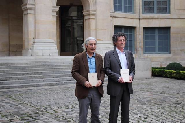 Hédi Kaddour et Boualem Sansal - Académie française - Grand Prix du Roman