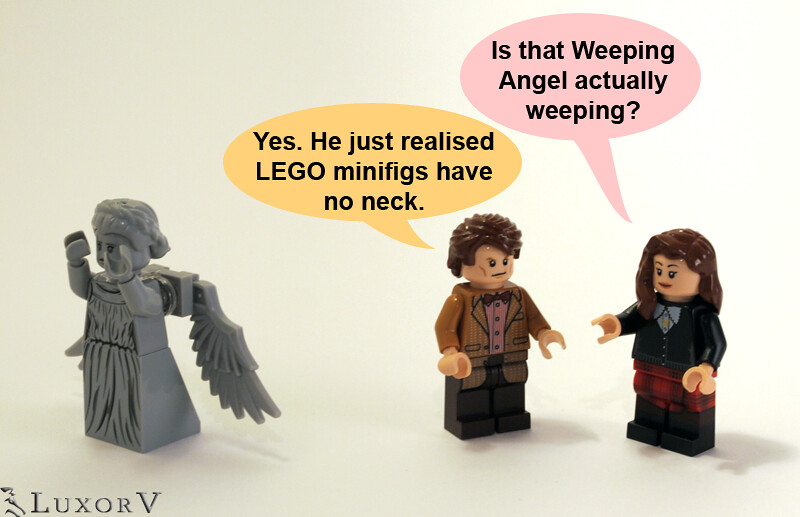 Lego weeping angel instructions