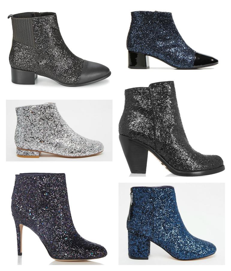 Glitter boots »