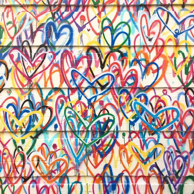 Lots of love from #NYC #lovewall