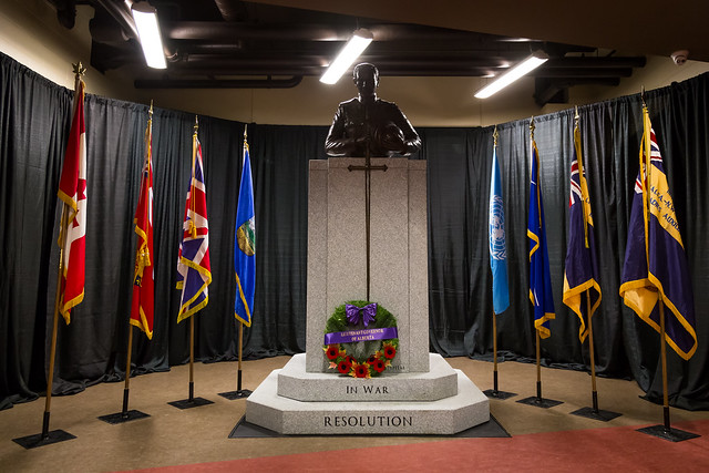 2015-11-05 Penhold Memorial Dedication