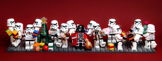 Darth Claus and the X-Mas Troopers