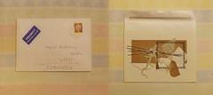 """Mail Art Present from Katrin Hagel: """"en miniature (1)"""" - Herzlichen Dank liebe Katrin! Es gefällt mir sehr. Große Freude es """"in echt"""" in Händen zu halten!"""