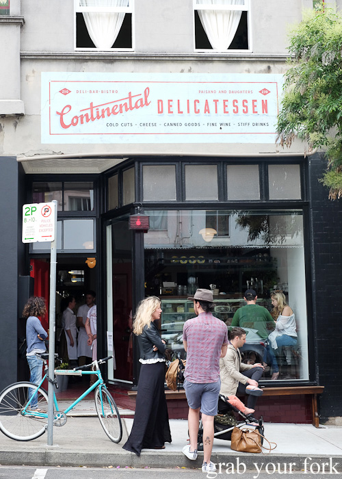 Continental Deli and Bistro, Newtown Sydney food blog review