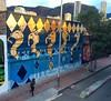 Muro terminado para CROMASUR Bogotá - Colombia Mil gracias a @guache_art y todo el equipo de producción. Gracias al barrio de Santa fe por la recibida Y que bello compartir con todos los que se compartió y disfrutó este tiempo.  #bogota #murales #muralart