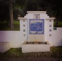 Water fountain near Rio Zezere