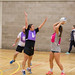 Staff vs Students netball match