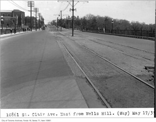 St Clair Avenue, east from Wells Hill Avenue
