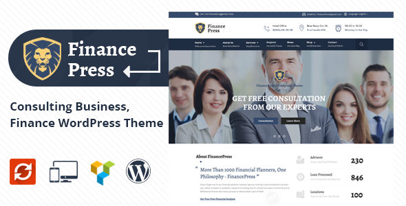 Finance Press v1.2 - Consulting Business, Finance