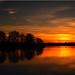 Winter Evening Sky by Ostseetroll