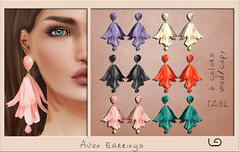 LaGyo_Aven Earrings for Shiny Shabby