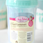 Jane Asher's 2 food containers